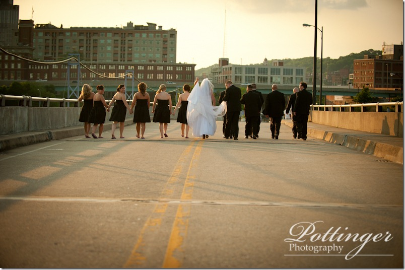 PottingerPhotographyCincinnatiWeddingPhotographerBlogWeddingOurLadyofLourdesNewportSyndicateSpringGroveArboretumMarriottRiverCenterBridgeWeddingPhoto (21 of 27)