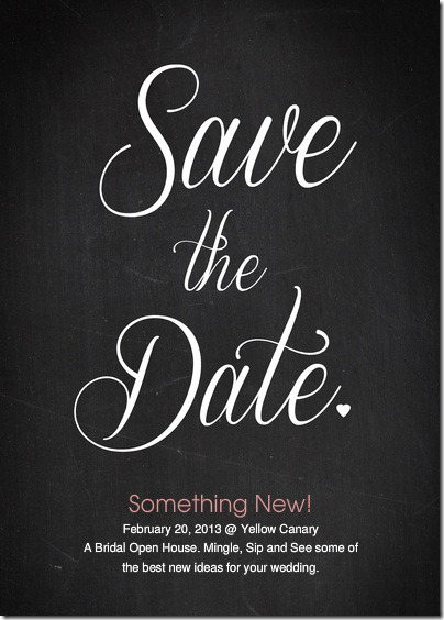 Something New Save the Date
