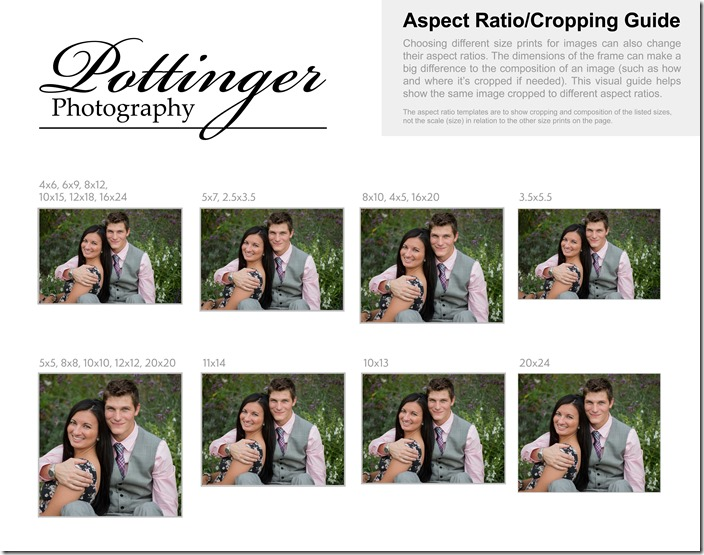 Cropping Guide (Aspect Ratio) Landscape