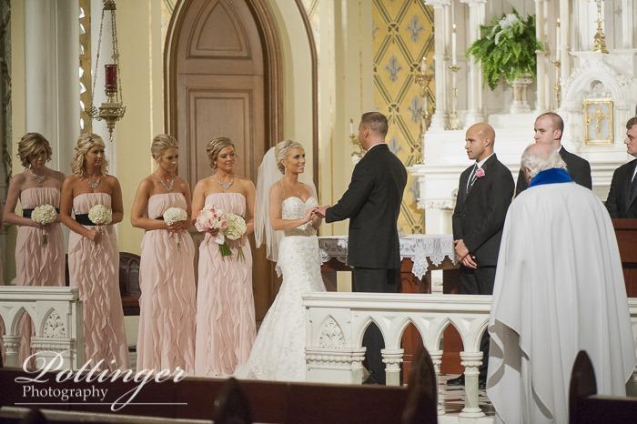 Congratulations tasha and eddie a cincinnati wedding for Wedding dress rental cincinnati ohio