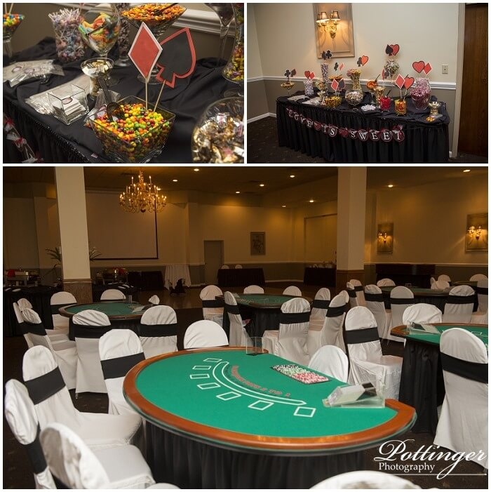 Emily And Mike A Casino Theme Reception Pottinger Photography