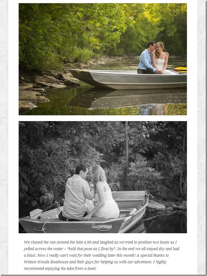 WeddingLovelyBlogRowboatengagement