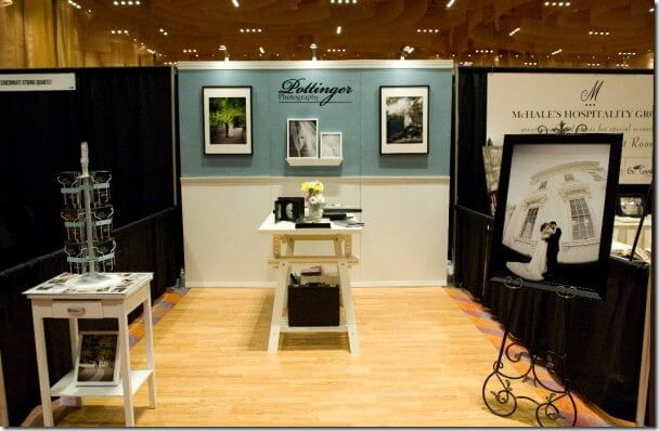 Wendy's Bridal Show booth Pottinger Photography