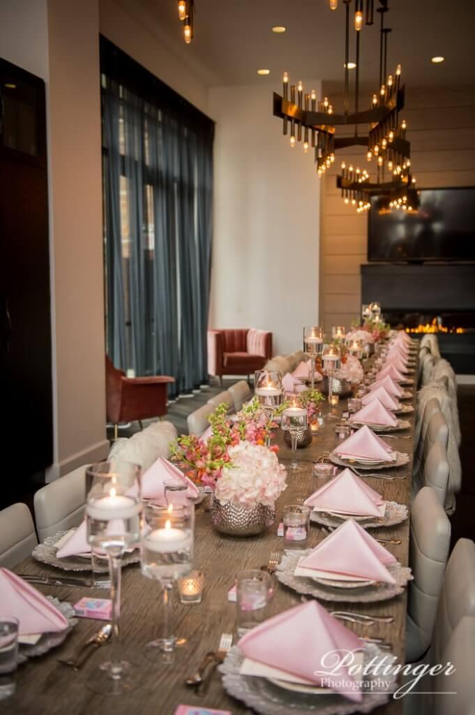 Dining room table restoration