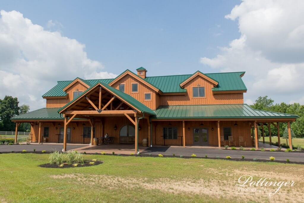 rolling meadows ranch a lebanon ohio wedding barn pottinger