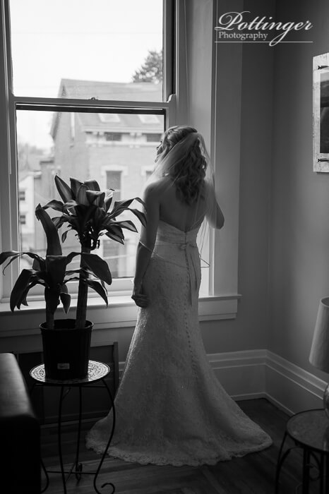 334f21676587 Wedding Dress: Carrie Karibo Hair: Stephanie Meadows Flowers: Kroger  Jewler: Henne (Pittsburgh, Penn) Videographer and DJ: Sabrina Cain, Wes Cain